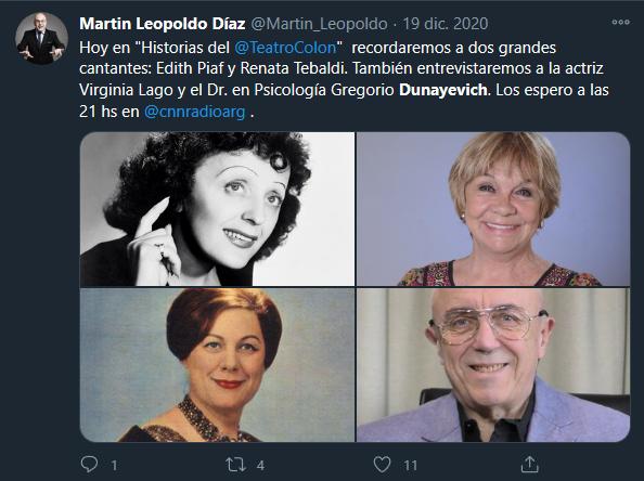 """Disforia en los artistas en """"Historias del Colón"""""""